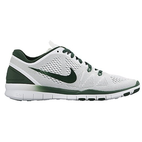 Nike Womens Free 5.0 Tr Fit 5 White/Gorge Green Training Shoe 7.5 Women US