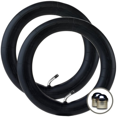 Pair of Bugaboo Pram Inner Tubes with 45 degree valve