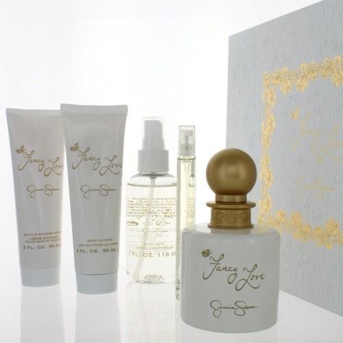 Fancy Love by Jessica Simpson for Women 5 Piece Set Includes: 3.4 oz Eau de Parfum Spray + 0.34 oz Eau de Parfum Spray + 3.0 oz Body Lotion + - Simpson Jessica Blonde