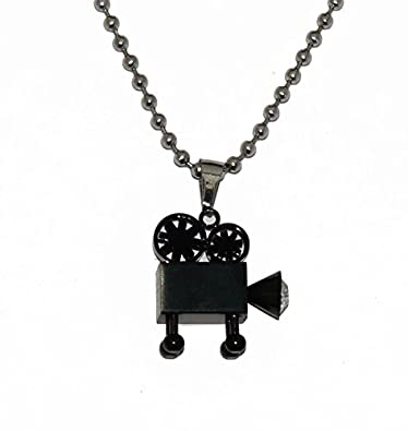 Buy jstarmart black camera pendant with silver chain necklace for jstarmart black camera pendant with silver chain necklace for men mozeypictures Image collections
