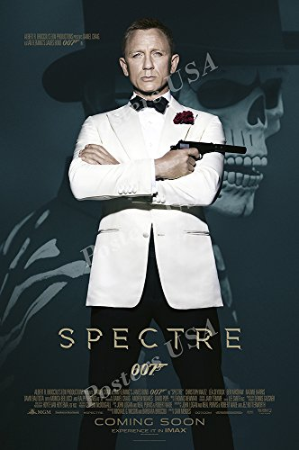 Posters USA - 007 Spectre James Bond Movie Poster GLOSSY FIN