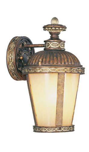 LIVEX Lighting 8630-64 Seville 1-Light Outdoor Wall Lantern
