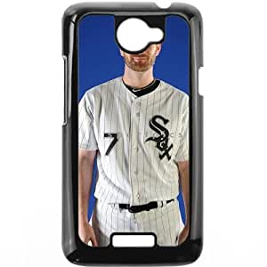 MLB&HTC One X Black Chicago White Sox Gift Holiday Christmas Gifts cell phone cases clear phone cases protectivefashion cell phone cases HABC605584484