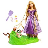 Disney Tangled Featuring Rapunzel Braiding Friends Hair Braider & Doll & Tangled Vanity Tangled Domino Game in Tin Case Gift Set