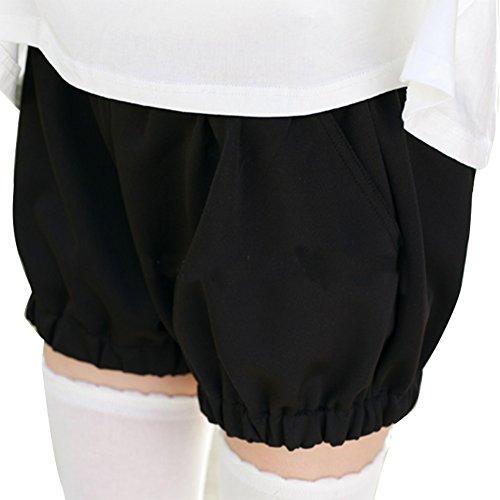 [Fantasy Sheep Women's Lolita Pumpkin Pants Black] (Black Sheep Costumes)