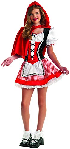 [Rubie's Drama Queens Tween Red Riding Hood Costume - Tween Medium (2-4)] (Costumes For Drama)
