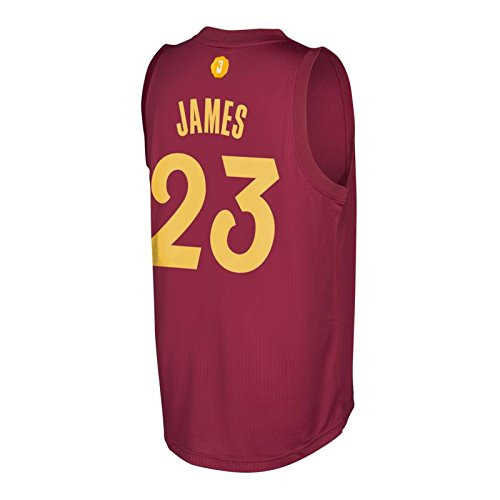 cheap for discount c2c5f fbf7c Amazon.com : Lebron James Cleveland Cavaliers Adidas ...