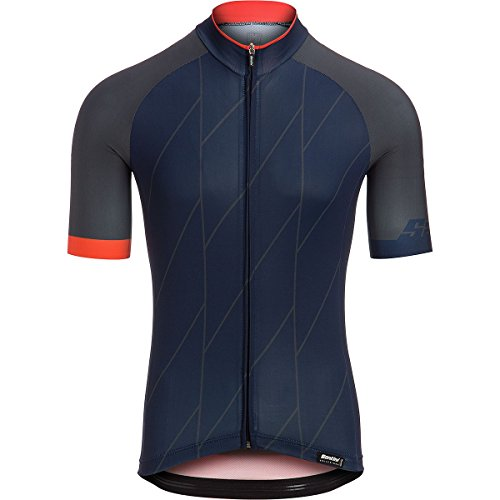 ort Sleeve Jersey, Nautica Blue, XX-Large (Santini Lightweight Jersey)