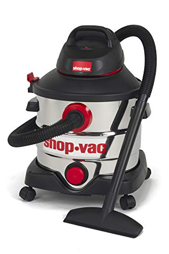 Find Discount Shop-Vac 5979403 8 gallon 6.0 Peak Hp Stainless Wet Dry Vacuum