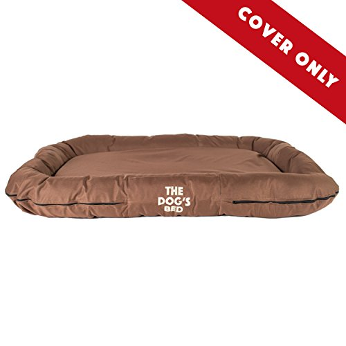 The Dog's Bed, Premium Quality Dog Bed, Water Resistant Durable Oxford Fabric Designed for Comfort, Washable Cover, Boarding Kennel Favorite by The Dog's Balls