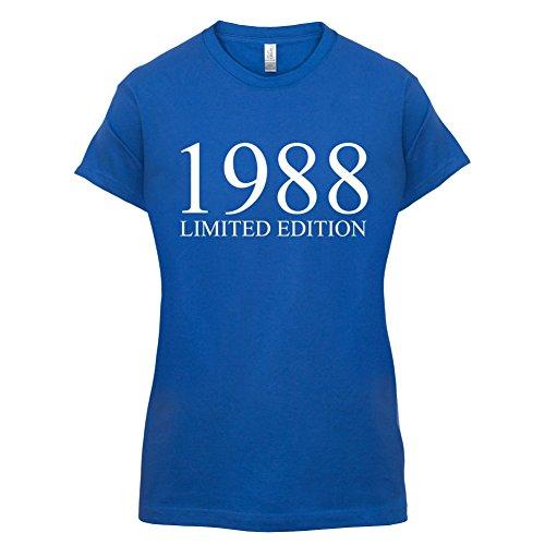 1988 Limierte Auflage / Limited Edition - 29. Geburtstag - Damen T-Shirt - Royalblau - L