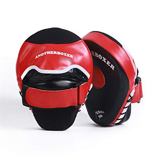 Boxing Target Essential Curved Boxing Punching Mitts Boxing Pads Hook & Jab Pads Target Focus Punching Mitts Thai Strike Kick - Mitt Focus Workout