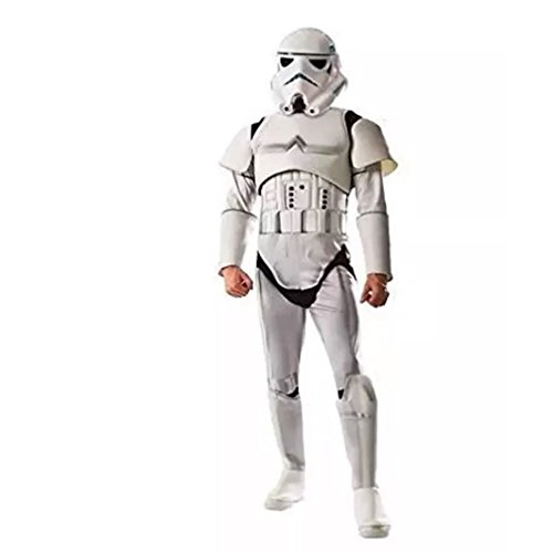 Mens Deluxe Star Wars Stormtrooper Costume Size Large (42-44) -