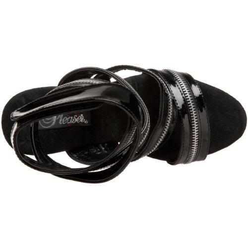 Sandal Women's Platform Xtreme Patent Black 840 Pleaser FgCqwUU