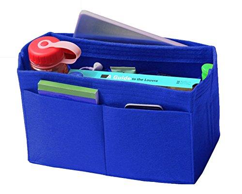 Bag Gg Monogram - [Fits Various Bags, L.V Her.mes Long.champ Go.yard] Felt Tote Organizer (w/Milk Water Bottle Holder), Purse Insert, Cosmetic Makeup Diaper Handbag, Belongings Pocket
