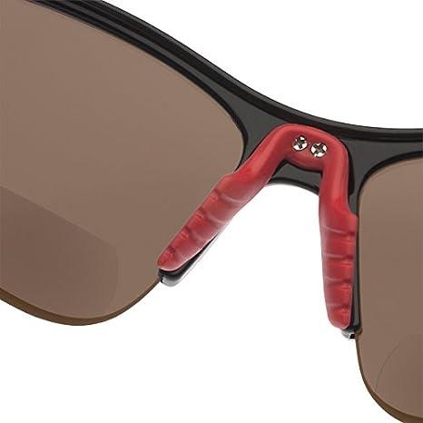 ee418a54eff3 Amazon.com: SL2 Pro Bifocal Reading Sunglasses by Dual Eyewear (Black frames/Brown  lenses, 2.0): Clothing