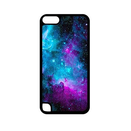 Premium Starry Galaxy iPod Touch 5 Generation 5th Thin Flexible Plastic Cover Case Funny For Teens (Touch Ipod 5 Case Spongebob)