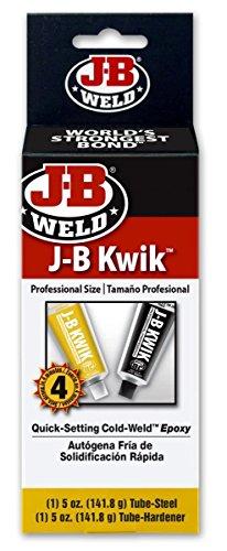 J-B Weld 8270 6 Pack 10 oz. KwikWeld Professional Size, Dark Grey by J-B Weld