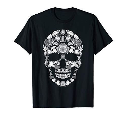 Frog Skull Shirt Skeleton Halloween Costume Idea Gift