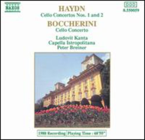 Price comparison product image Haydn: Cello Concertos Nos. 1 And 2 / Boccherini: Cello Concerto In B Flat Major