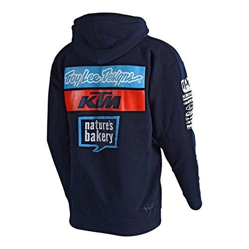 Troy Lee Designs Fleece-Hoody KTM Team Blau Gr. M