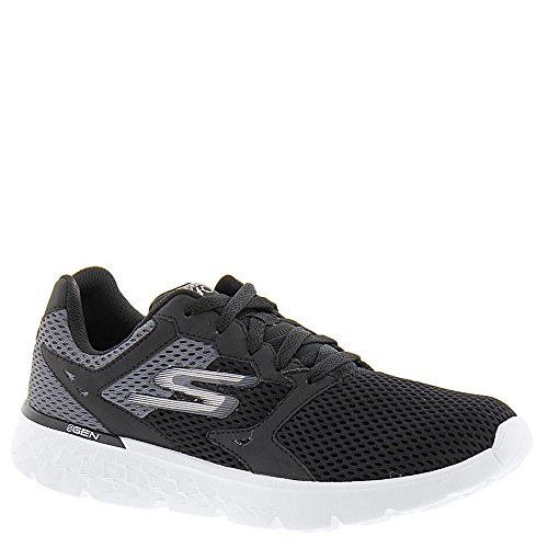 Skechers Damen GO Run 400 Funktionsschuhe Black/White