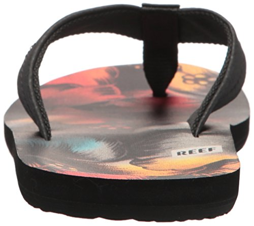 Reef Mens Ht Prints Sandalo Rasta Flower