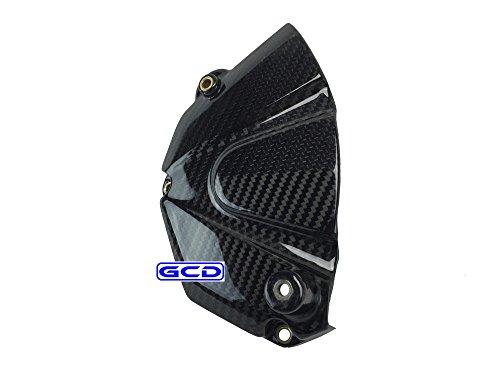 ZF-R6 Engine Front Sprocket Case Cover 100% Twill Carbon Fiber (Carbon Sprocket Cover)