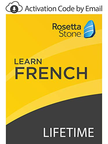 : Rosetta Stone: Learn French with Lifetime Access on iOS, Android, PC, and Mac [Activation Code by Email]