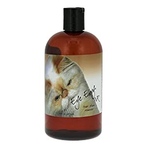 Eye Envy Tear Stain Remover Solution for Cats 100% Natural and Safe Recommended by Breeders/vets/cat fanciers/Groomers Contains colloidal Silver Remove Stains from Fur on Persians and Exotics 9