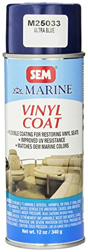 SEM M25033 Ultra Blue Marine Vinyl Coat - 12 oz.
