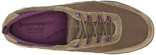 Sneaker Lace Fashion Grasshoppers Women Olive Explore Y8qa4Ta