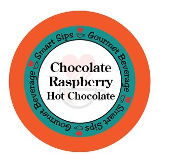 Cocoa Chocolate Raspberry (Smart Sips, Chocolate Raspberry Hot Chocolate, for Keurig K-cup Brewers, 24 Count)