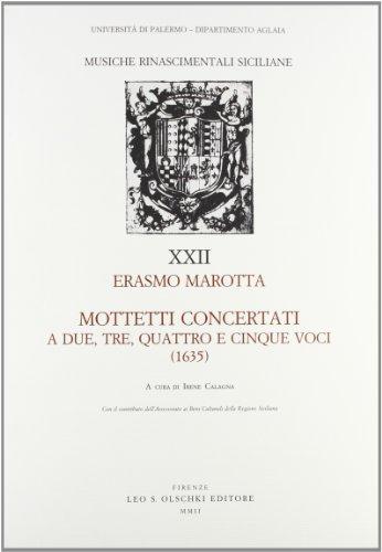 Mottetti concertati a due, tre, quattro e cinque voci (1635)