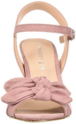 Bows Fabric Mauve Mujer para GirlBOWS01J1 Madden 6TBq1gx