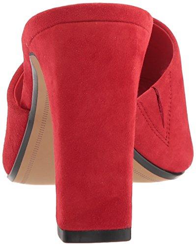 Womens Red by Steven Madden Jensen JENS01D1 Steve Suede Bwv48xAq