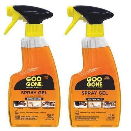 Goo Gone Remover Spray Gel, 12 oz - (2 Pack)