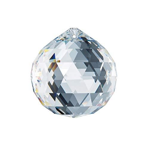 40mm Swarovski Strass Clear Crystal Ball Prisms 8558-40 ()
