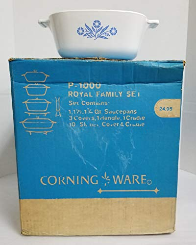 "Vintage Mid-Century New Old Stock Corning P-1000""Royal Famil"
