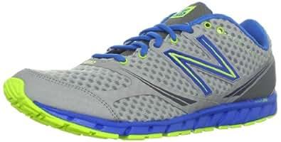 New Balance Men's M730v2 Running Shoe,Grey/Blue,9.5 2E US