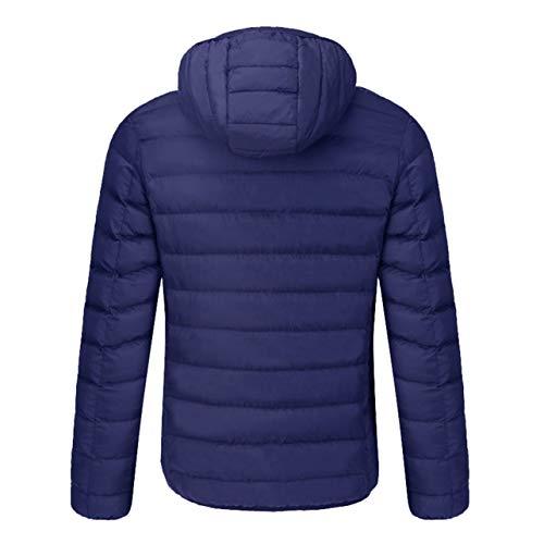 amp; Size Riscaldamento Blue Del Sicurezza Elettrico Caldo Intelligente Di 4xl Usb Wososyeyo Termostato Cappotto v7ZzwqxP