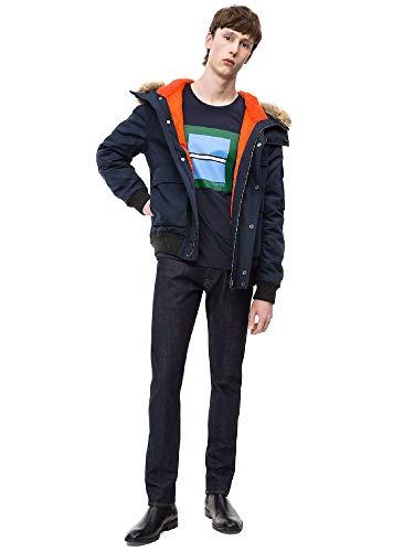 Klein T K10k102679 shirt Calvin Man Bleu fwSqSdE