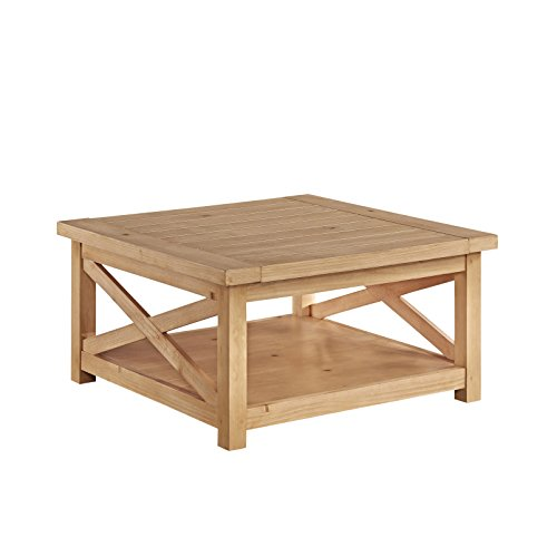 Home Styles 5524-21 Country Lodge Coffee Table, Honey Pine Finish