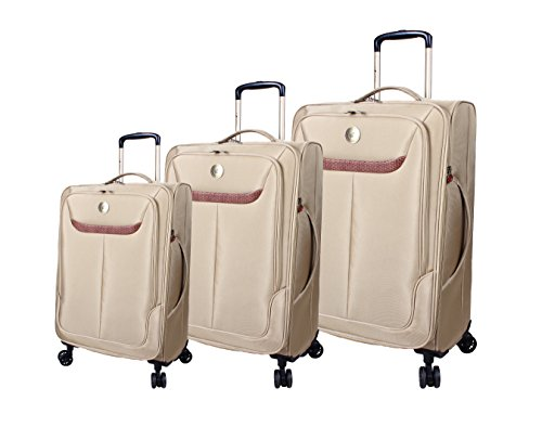 caribbean-joe-3-piece-ultra-lightweight-expandable-luggage-with-spinner-wheels-tan