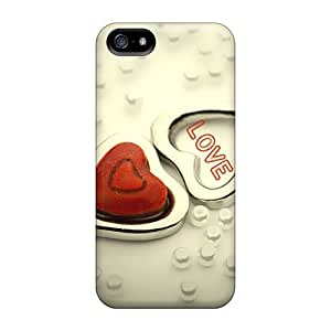 CrB7725fJmc Faddish Love Cases Covers For Iphone 5/5s