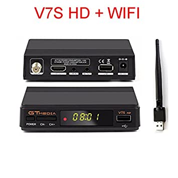 Yiwa Freesat V7S HD+WiFi Satellite Receiver Full 1080P HD Receptor Support PowerVu Youtube Bisskey Youpron