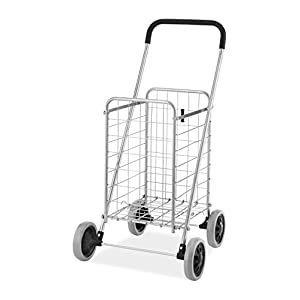 Whitmor Rolling Utility Folding Cart