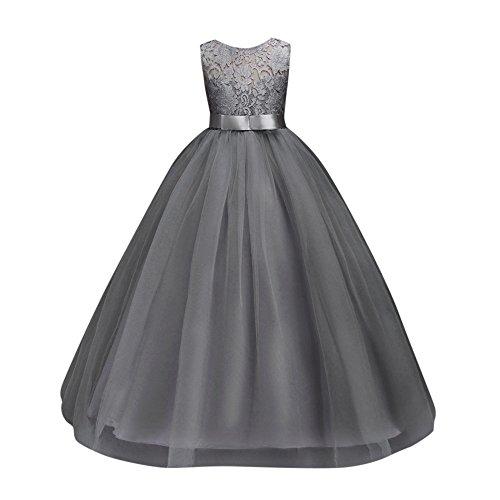 ❤️ Mealeaf ❤️ _ Girl Ball Gown Sleeveless