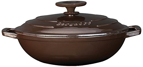 BergHOFF Neo 10 inch Covered Cast Iron Wok