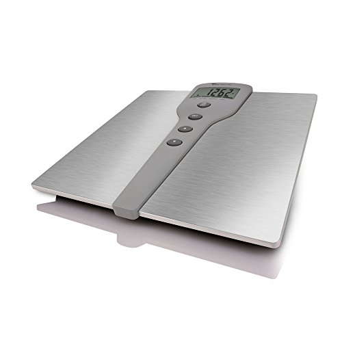 Detecto D220 Stainless Steel LCD Digital Body Composition Scale